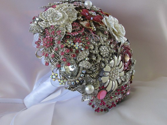 brooch bouqets wedding brooch bouquet