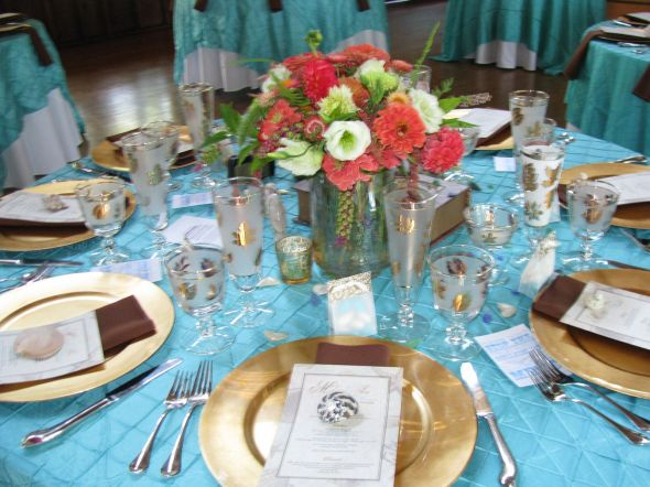 Island wedding over Beach Vineyard Tiffany Bluelots to sell wedding