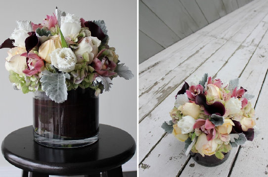 Diy fresh flower wedding centerpiece tutorial