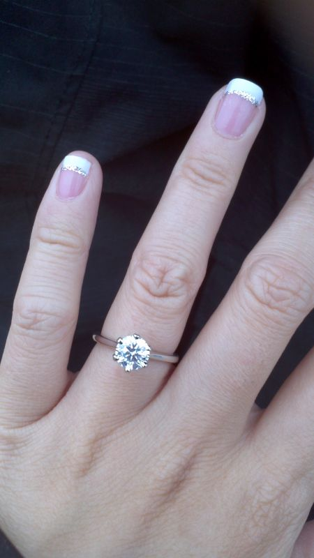 Love in a Hot Air Balloon! :  wedding bluenile engagement solitaire 2012 12 02 07 18 26 806