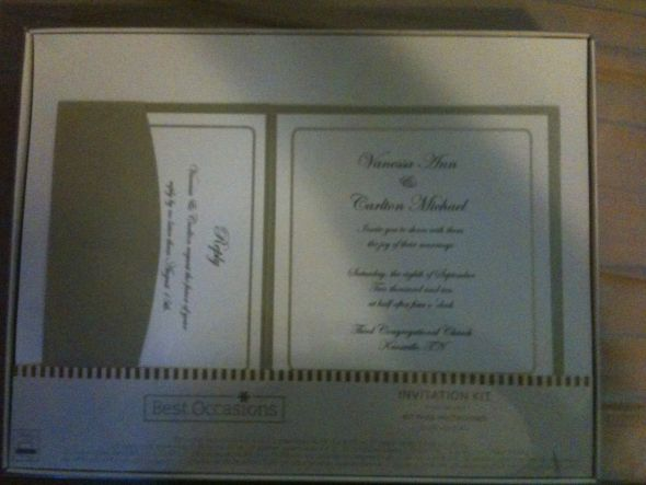 Price 15 per box 060 cents an invitation set DIY Invitations wedding