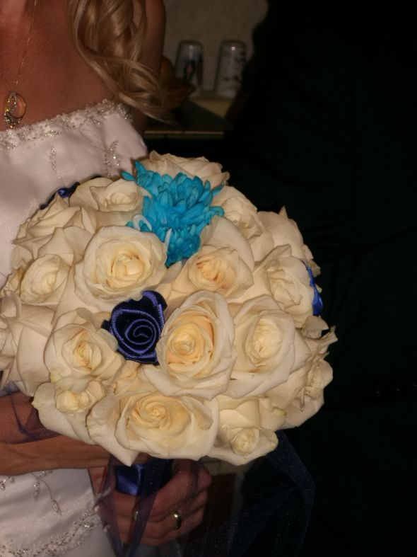 My DIY wedding bouquet!