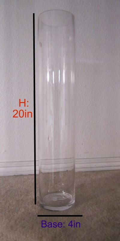 Image Result For Tall Clear Plastic Vases For Centerpieces