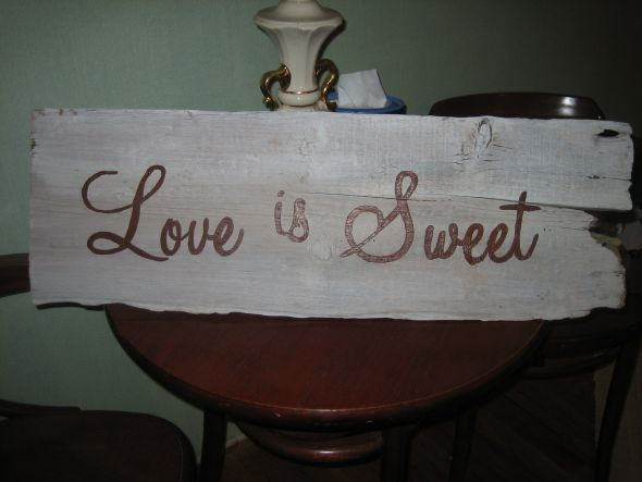 Love is Sweet sign wedding IMG 4120