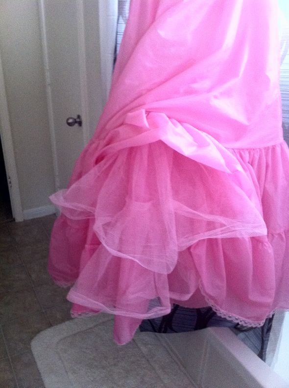 I dyed my petticoat and it turned ou