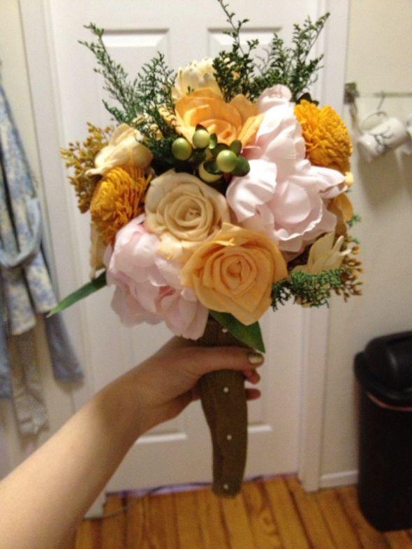 DIY sola bouquets & centerpieces