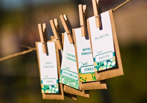 diy flower seed packet favors what else can i do