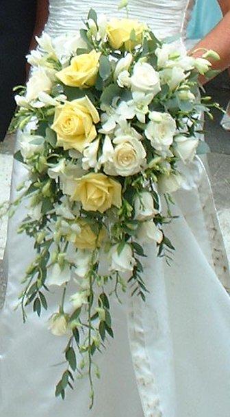 Cascade Bridal Bouquet Instructions : How to make bouquets cascading bouquet silk flowers