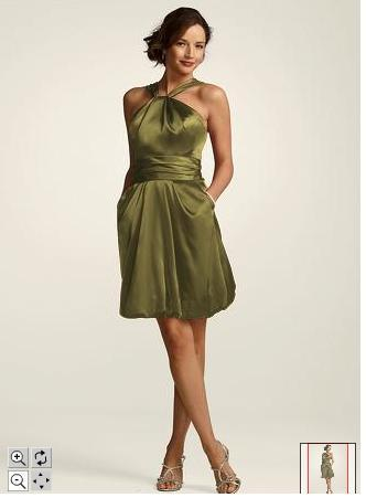 Our color is olive green also with tans and browns