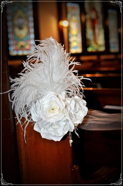 Church wedding decor crafts pinterest church for Aisle wedding decoration ideas