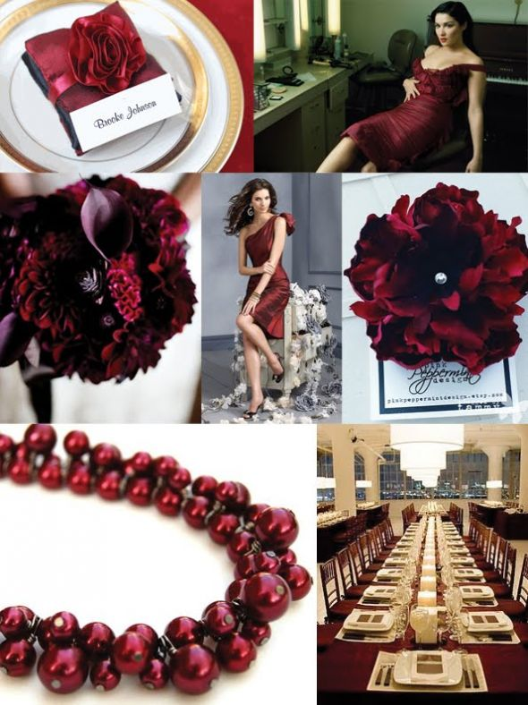 the color burgundy