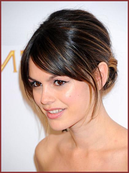 Hair Trial – Opinions Please - Weddingbee  Rachel Bilson Hair Bangs