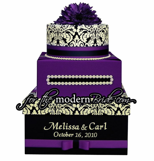 Option 2 My new interest purple damask black white