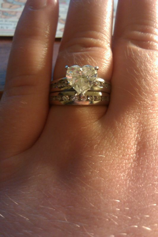 wedding Engagement Ring And Wedding Band 1 year ago