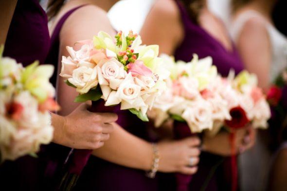 Sangria Wedding Color Schemes