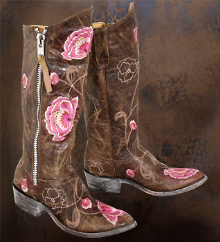 Cowgirl Boots with Your Wedding Dress!