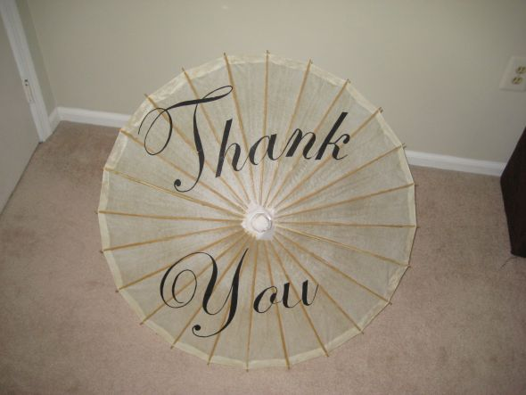thank you parasol on Etsy, a global handmade and vintage marketplace.