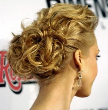 bridal hairstyles updos. wedding Celebrity Updo