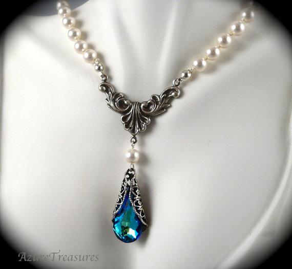 V neck dress necklace for Necklace for v neck wedding dress