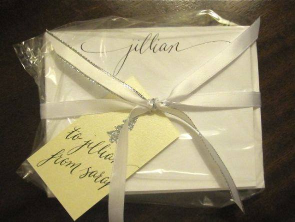 Less than 8 orders and the wrap and custom tag with calligraphy is only 3