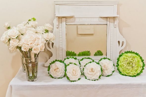 Composite Bouquets...SWOON :  wedding flowers ivory IMG 4742
