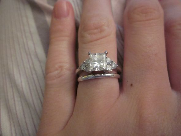 Wedding Bands To Go With Solitaire Weddingbee