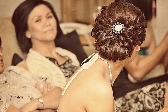 wedding Hair002 Low loose updo wedding Hair004