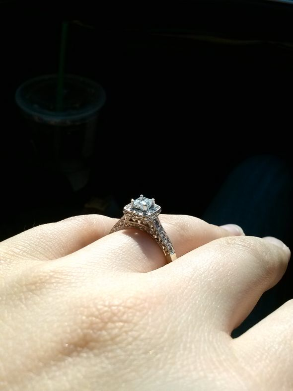 My pawn shop ring weddingbee photo gallery for Pawn shops that buy wedding dresses