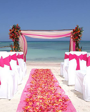 Beach wedding decor advice!