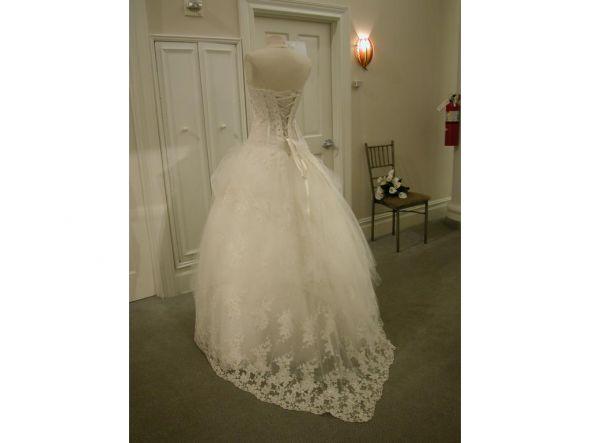 Pnina Tornai Ballgown For Sale wedding pnina tornai ball gown white dress