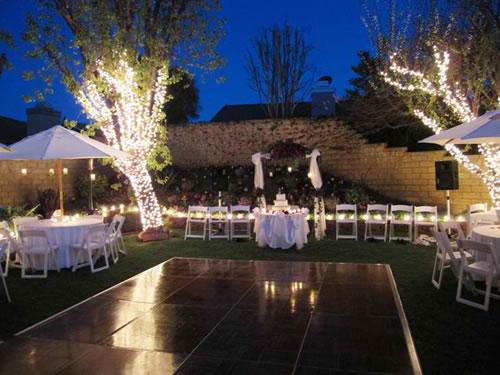 Outdoor Wedding Lighting Ideas: De lovely affair decor creative ...