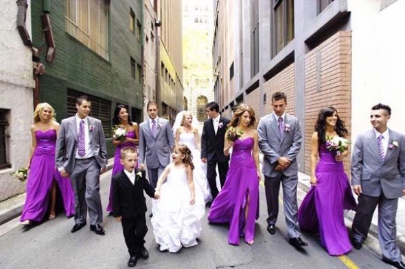 wedding Purple Gray Black 10 months ago