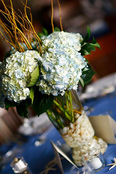 Adrena s beautiful hydrangea and rose centerpieces