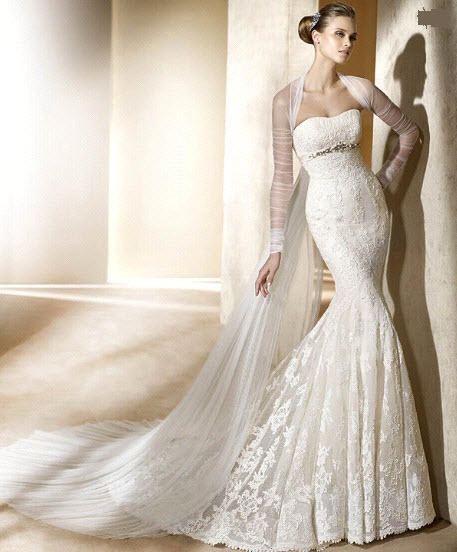 wedding Silaba Ivory 2011 Pronovias Wedding Dress