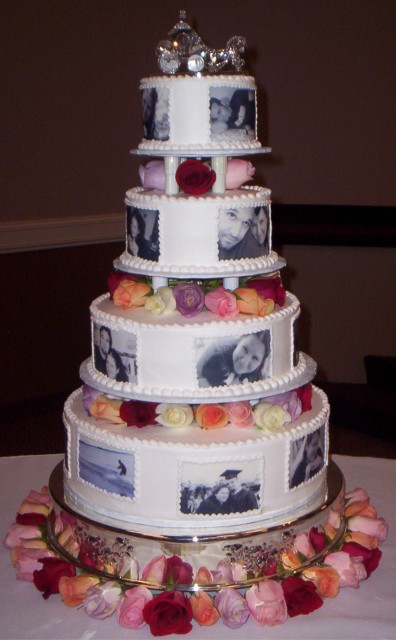 Cake Designs For Photographers : Which wedding cake should I do? Whch would look better ...