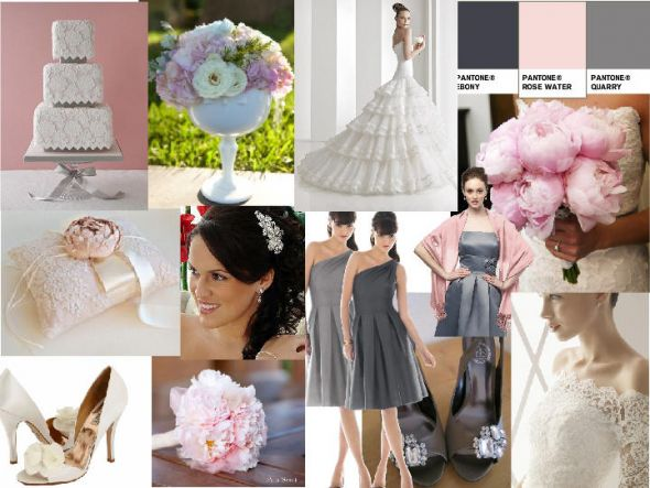 Pink Grey Wedding Decor Suggestions wedding B 48620 Snapshot
