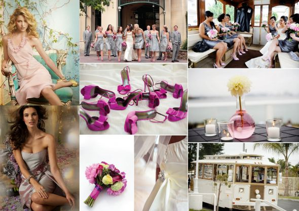 Inspiration Ideas For A Raspberry Pink And Platinum Wedding