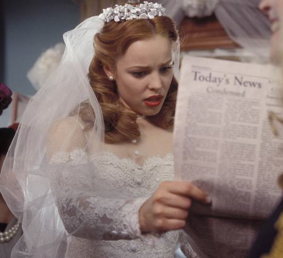 the notebook rachel mcadams wedding dress