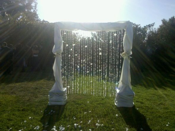 Wedding Arch wedding white ivory ceremony Arch