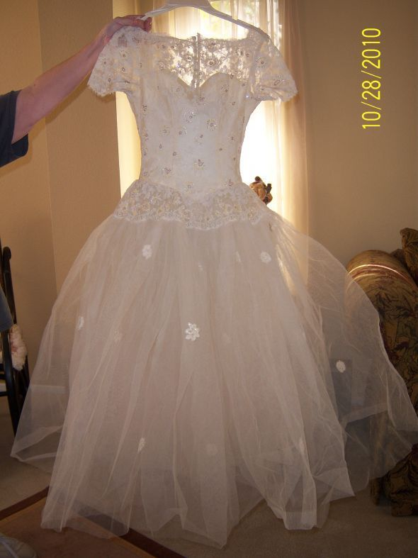 WANTED vintage 1950 39s dress wedding dress vintage 1950s 1 100 1599