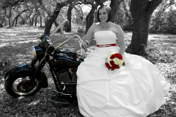 Motorcycle Wedding Dresses 95