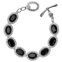 jewellery with bracelet jewelry smart chain stone product silver black ivy