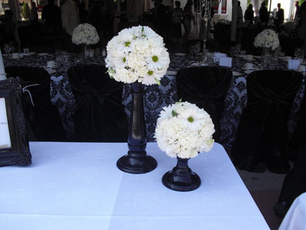 Closed Number Of Flowers In Pomander Centerpiece