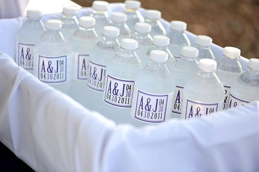 DIY  waterbottle labels :  wedding diy labels reception water bottles waterbottles Waterbottles