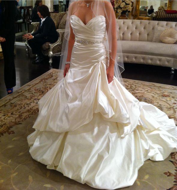 White Vs Ivory Wedding Dresses Weddingbee