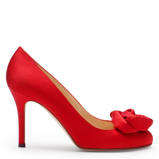 Love... :  wedding red shoes Kamille
