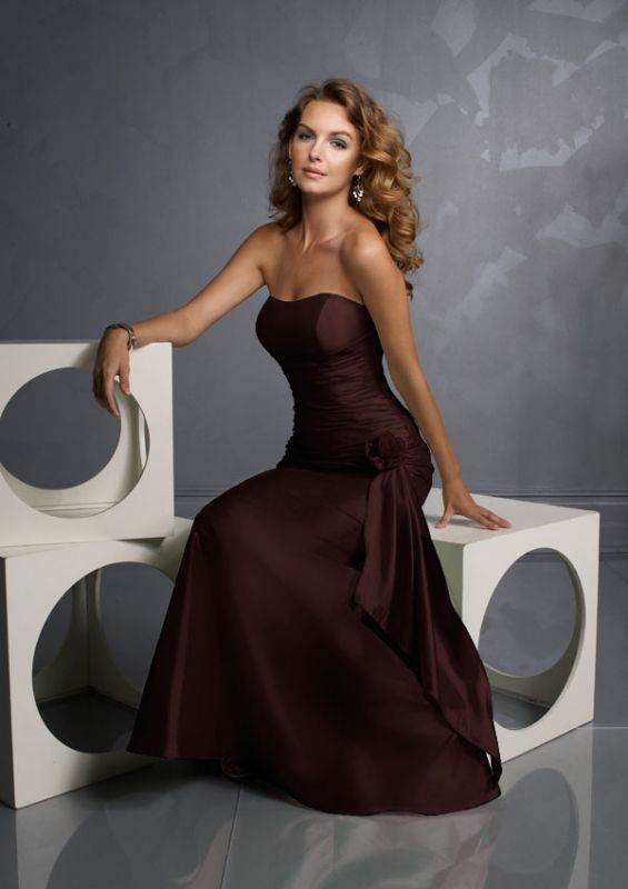 WINE COLORED BRIDESMAID DRESSES | BRIDESMAID DRESSES