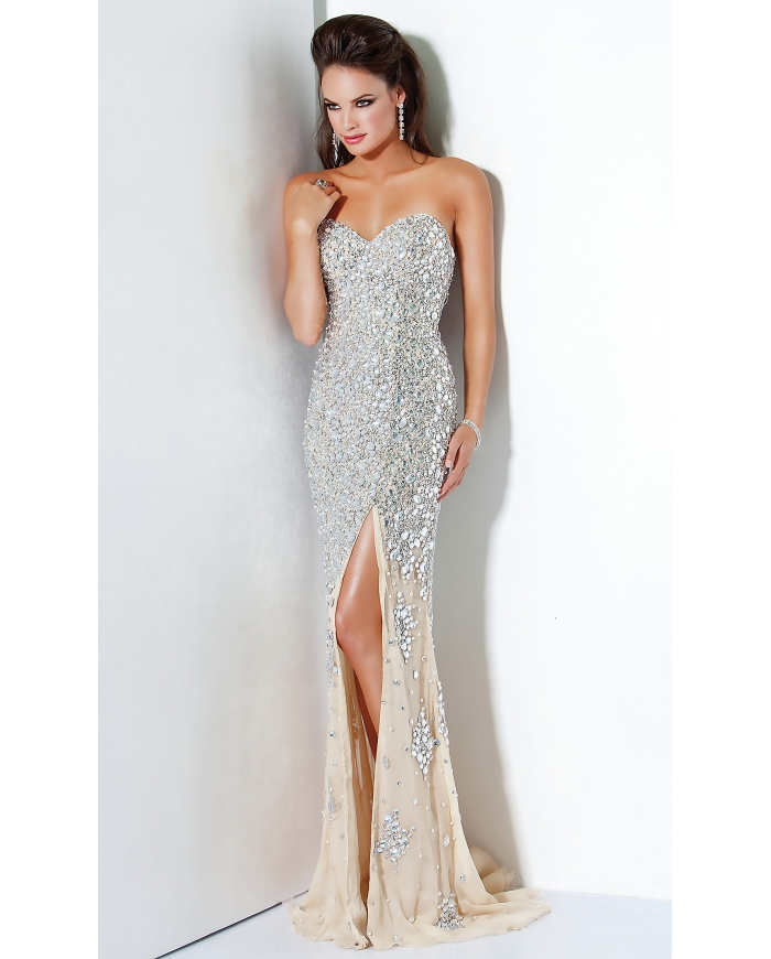 Help Me Find This Dress Sparkly Fitted BLING Va Voom