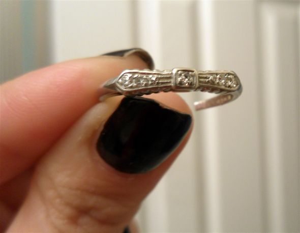 Please Post Your HeirloomVintage Engagement and Wedding Bands