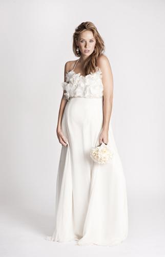 Ideas For Maternity Photos. Maternity Wedding Dress